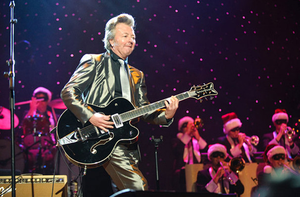 Brian Setzer Orchestra Christmas Rocks, MGM Grand Theater, Providence