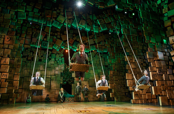 Matilda The Musical, Providence Performing Arts Center, Providence
