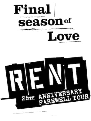 Rent, Providence Performing Arts Center, Providence